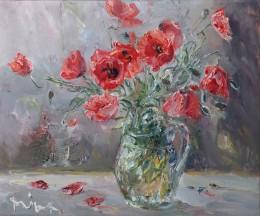 Still Life with Wild Poppies
